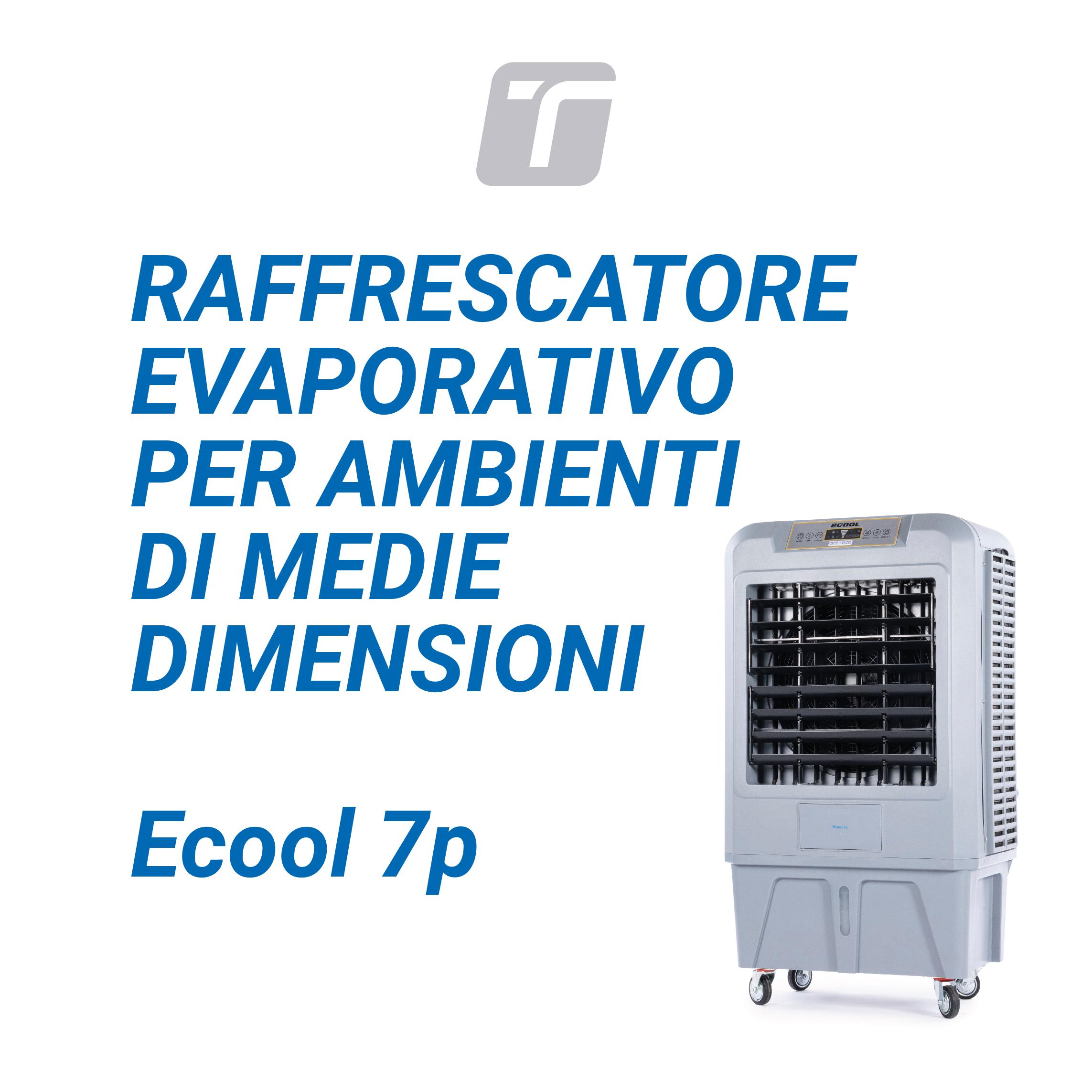 RAFFRESCATORE EVAPORATIVO ECOOL 7P