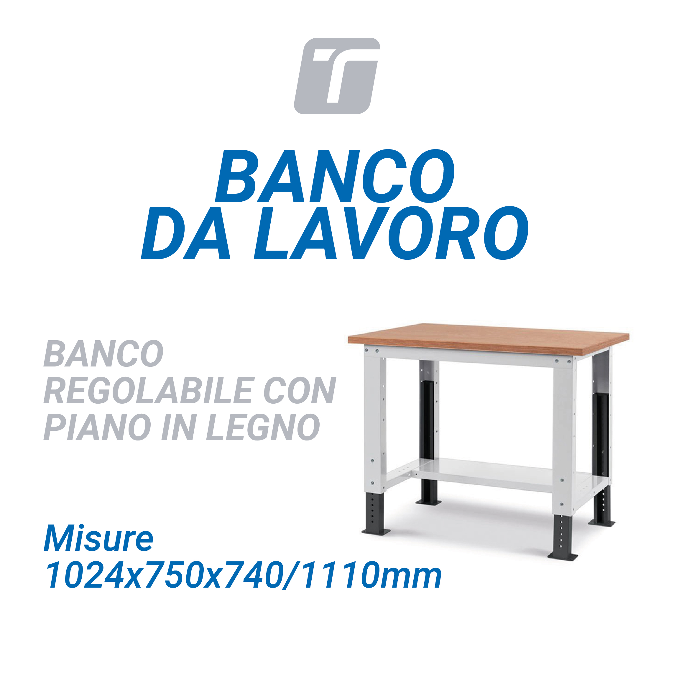 BANCO DA LAVORO WORK UP